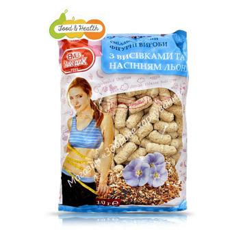 Фігурні вироби з висівками і насіннячками льону Мак-дак 150г